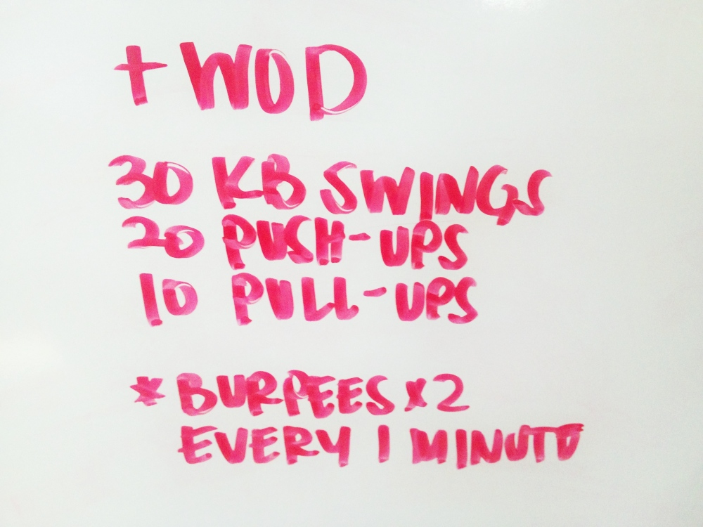 Tack on this +WOD at the end of your workout