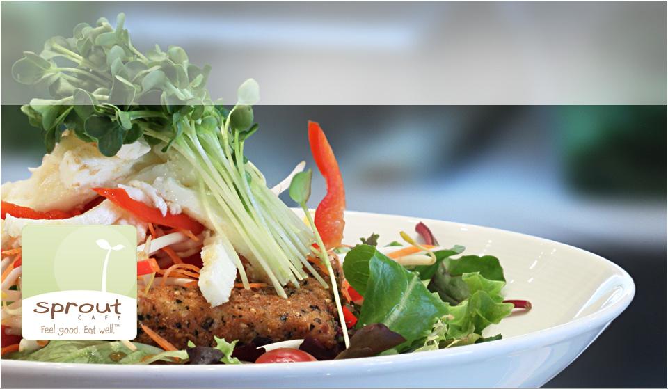 Check out Chef Eddi's award-winning Sprout Café in Palo Alto